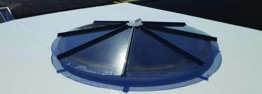 Butynol roofs, decks