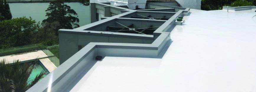 Fibreglass roofs, decks